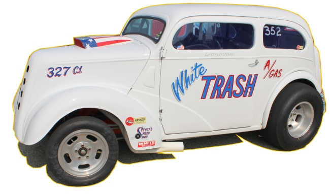 Chopped Anglia Gasser Chassis