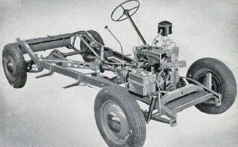 1939 Willys Gasser chassis