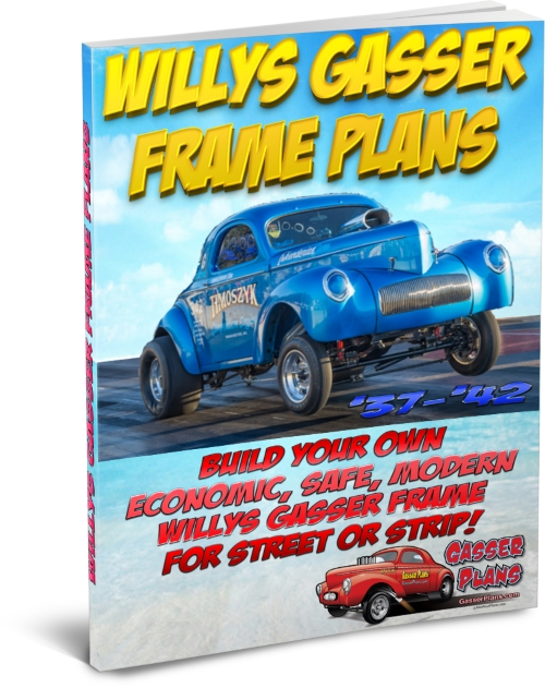 Willys Gasser Frame Plans
