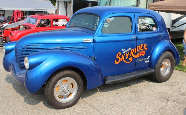 Willys Gasser Sedan