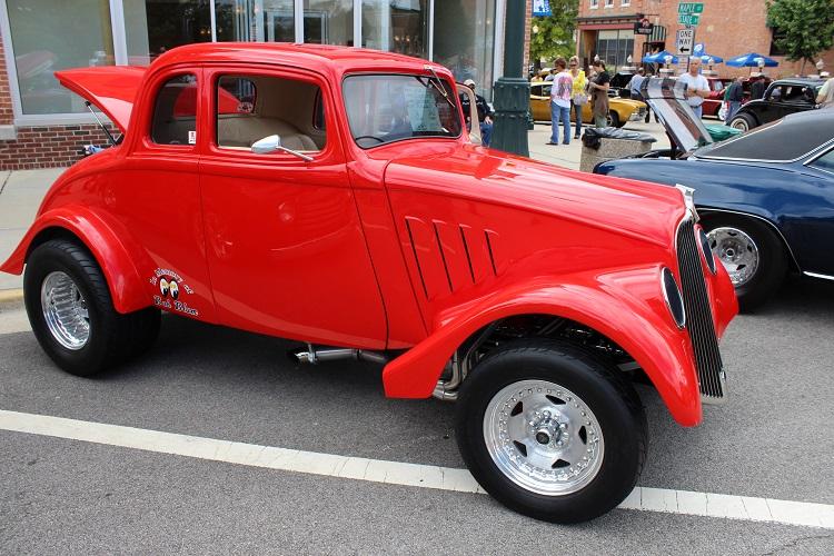 Pro Street 1933 Willys Gasser