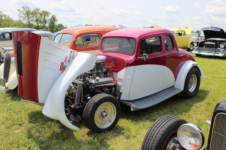 1933 Willys Gasser Fiberglass Body
