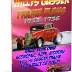 1933 Willys Gasser Frame Plans