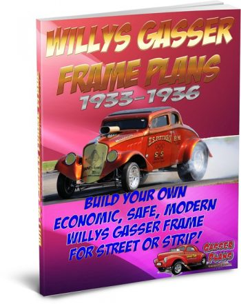1933 Willys Gasser Frame Plans