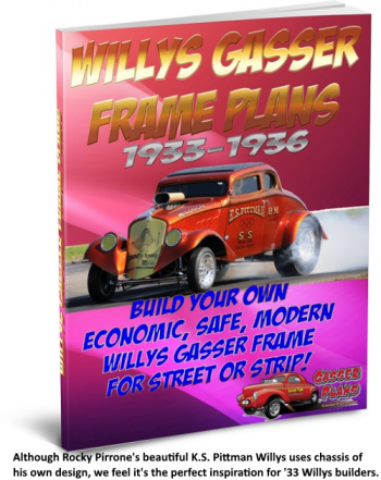 Rocky Pirrone K.S. Pittman 1933 Willys