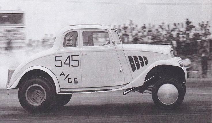 1933 Willys Gasser Ohio George Montgomery