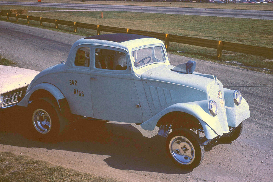 1933 Willys Gasser Frame Plans - GasserPlans.com