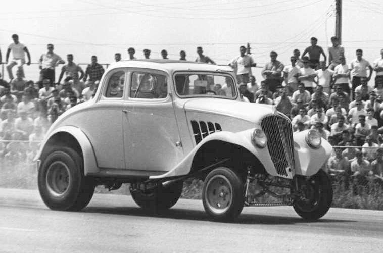 Ohio George Montgomery 1933 Willys Gasser