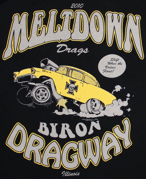 Meltdown Drags 2010 Byron Dragway Illinois